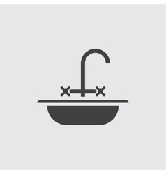 Sink icon vector image
