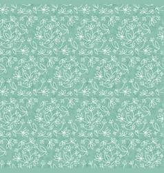 vintage natural seamless pattern vector image vector image