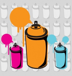 Spray can vector