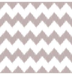 Ikat Chevron Seamless Pattern vector image