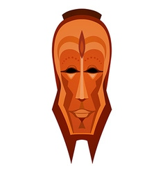 African tribal mask vector