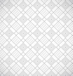 Geometric gray seamless pattern vector image