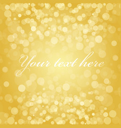 Gold blur background vector