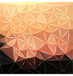 Abstract polygonal faceted background vector