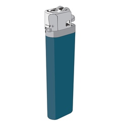 plastic lighter vector image vector image