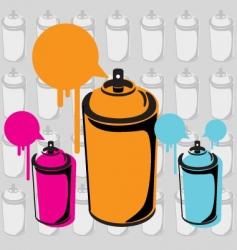 Spray can vector