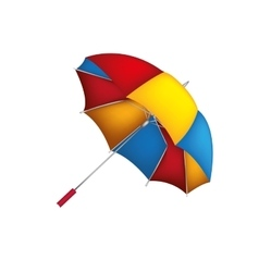 umbrella parasol icon image vector image vector image