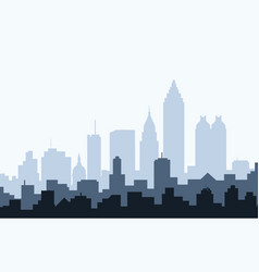 Atlanta at Morning vector image