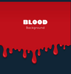 Background with drips of blood vector