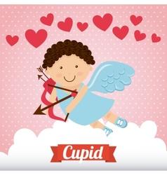 cupid cute vector image