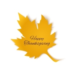 Happy Thanksgiving banner vector image vector image