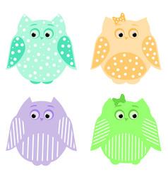 owls3 vector image