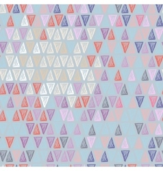 Pastel triangle pattern vector