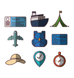 Travel time design vector