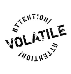 Volatile rubber stamp vector