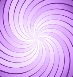 Abstract purple ray twirl background vector
