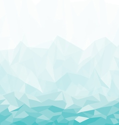 Background abstract polygon blue design vector