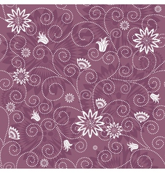 gentle violet seamless pattern vector image vector image