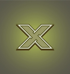 Letter x logo vector