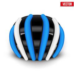 Mountain bicycle helmet vector