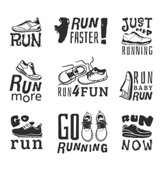 Run sport motivation vector image vector image