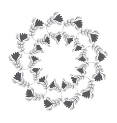 rustic emblem abstract design vector image vector image