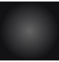 Metallic background with carbon texture vector image