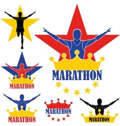 Marathon vector