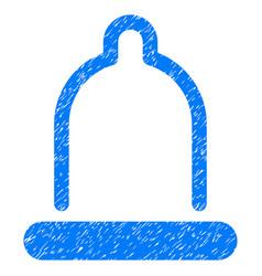 Condom grunge icon vector