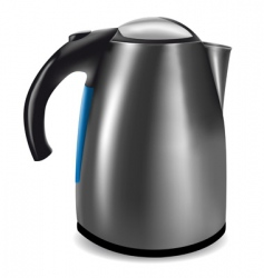 electric kettle vector image vector image