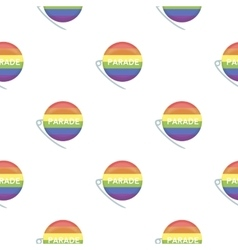 Gay parade icon cartoon pattern gay icon from the vector