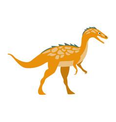 Predator raptor dinosaur of jurassic period vector