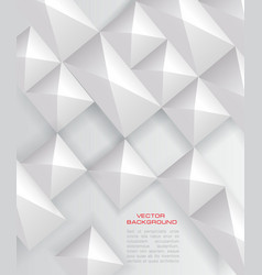 paper square banner vector image