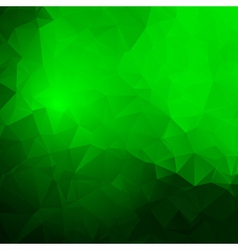 Trendy abstract green frame vector