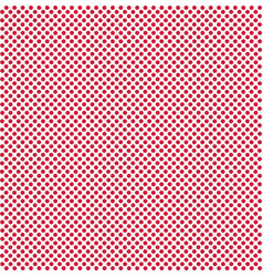 Dot red background on white dot red pattern red vector