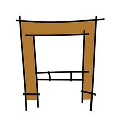 Icon gate vector