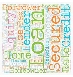 Secured homeowner loans secures an opportunity to vector