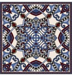Traditional ornamental floral paisley bandanna You vector image