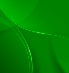 Abstract green background for design vector