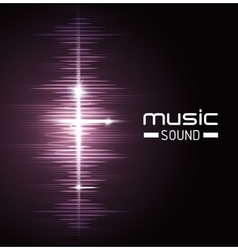 Music sound design vector