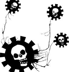 Flowers of evil vector