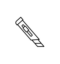 Cutter icon vector
