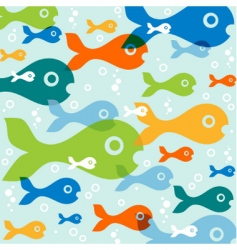 fish vector vector image