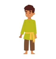 Indian boy vector