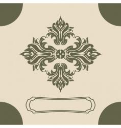 Royal design element vector
