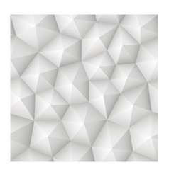 seamless 3d geometric abstract white texture vector image vector image