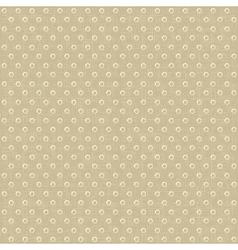 Seamless polka dots pattern vector