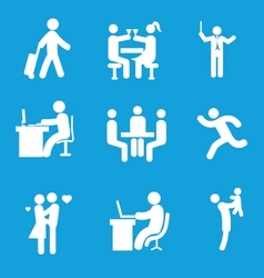 Set of people 1 vector image