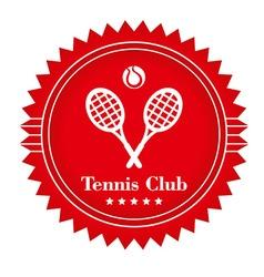 TennisClub vector image vector image