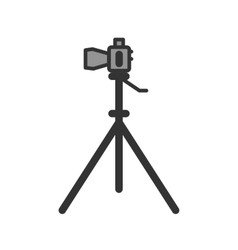 Camera stand vector